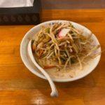 深夜営業のデカ盛りラーメン!高崎市の極濃湯麺 フタツメ 貝沢店の体験談 バカでかい唐揚げと一緒に頂く大盛りでクリーミーな「濃厚タンメン」